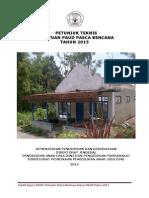 Petunjuk Teknis Bantuan Paud Pasca Bencana Tahun 2015 File