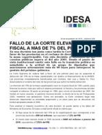 Informe Nacional 29-11-15