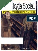 Adamsong Psicologia Social Para Principiantes