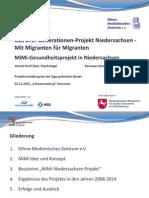 Drei-Generationen-Projekt Niedersachsen
