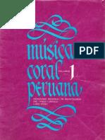 INC PNUD UNESCO - Música Coral Peruana. Vol. 1