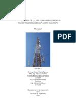 Monografía Metodología de Cálculo Para Torres Arriostrada