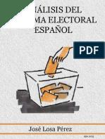Análisis Del Sistema Electoral Español de José Losa Pérez