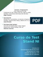 Curso de Test Stand_NI