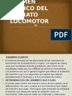 4-1 EXAMEN CLINICO DEL APARATO LOCOMOTOR.pptx