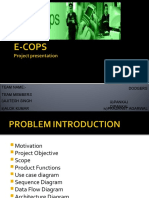 Presentation e-Cops