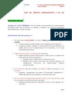 Tema 9 Los Actos Procesales Del OJ y de Las Partes
