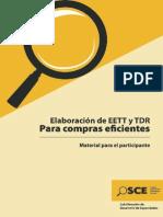 Elaboracion de EETT Y TDR