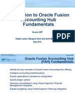Introduction - Fusion Accounting Hub Fundamentals