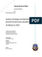 Análisis estratégico del Marketing 2.0 durante las elecciones presidenciables de México en 2012