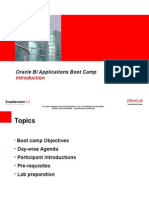 Oracle Business Intelligence Applications 7.9.6 for ERP Implementation Boot Camp Presentation Slides