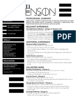 mstevenson resume