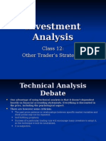 In v Analysis Class 13 Trader Strategies 2