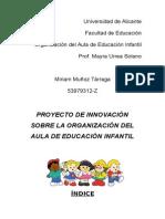 Proyecto Innovación para educación infantil