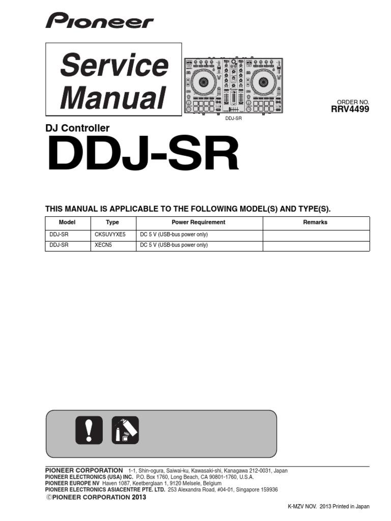 Pioneer Ddj-sr Driver Download For Mac