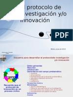 3. Protocolo de investigación o innovación