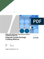 OptiX RTN 900 V100R003C03SPC201 Upgrade Guide-Package Loading Method