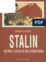 Stalin Historia y Crc3adtica de Una Leyenda Negra