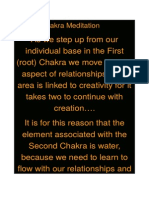 Second Chakra Meditation