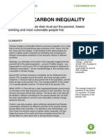 Extreme Carbon Inequality