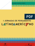 I Jornadas de Pensamiento Latinoamericano