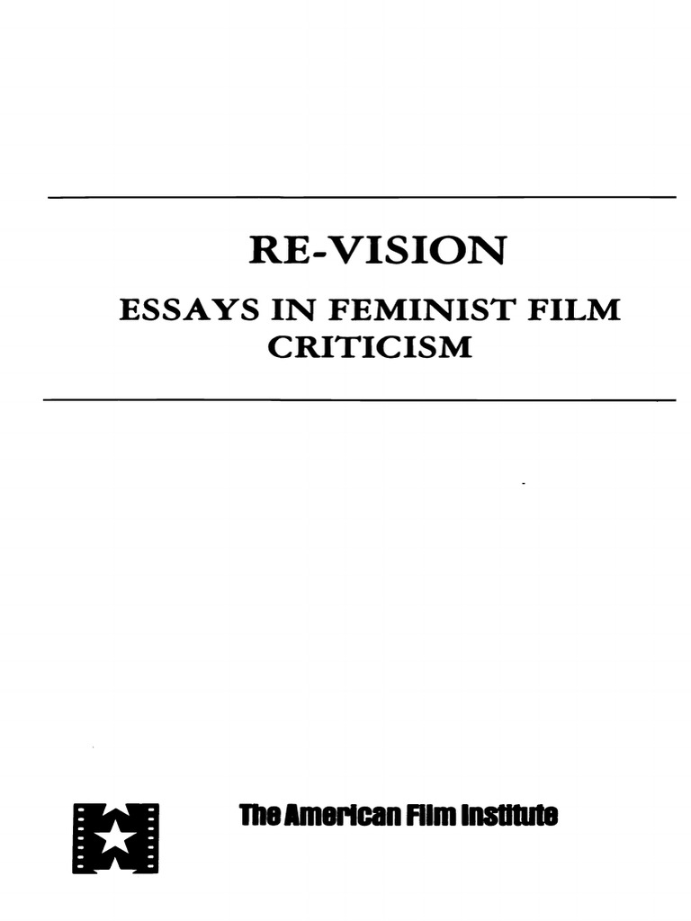 Mary Ann Doane-Re-Vision Essays in Feminist Film Criticism