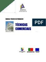 Tecnicas comerciais formador