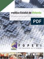 Politica Estatal de Vivienda Bolivia
