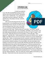a-broken-leg-second-grade-reading-comprehension-worksheet.pdf