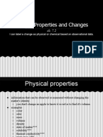 physical properties and changes notes