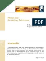 Patología Dual, Conceptos y DEfiniciones (Dr. Dolmoun) Versión Visualización (1)