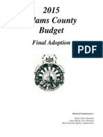 Proposed 2015 Adams County Budget