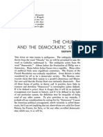 G. Weigel SJ - The Church & the Democratic State