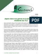 174 Japon Clava Sus Garras en La Biodiversidad Mediante Los Tlc