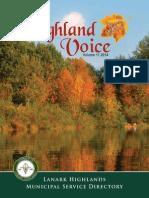 Highland Voice 2014