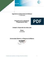 Unidad 3. Desarrollo de Sitios Web