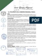 MANUAL DE ORGANIZACIÓN Y FUNCIONES GOBIERNO REGIONAL PASCO