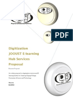 Digitization Service & Elearning System Proposal for Jooust