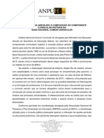 Carta Da Anpuh RJ Sobre a BNCC