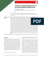 Predator responses to novel haemolymph defences of western corn rootworm (Diabrotica virgifera) larvae