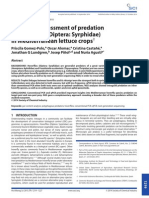 Molecular assessment of predation by hoverflies (Diptera