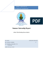 Air India Summer Internship report