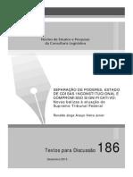 SEPARAÇÃO DE PODERES, ESTADO DE COISAS INCONSTITUCIONAL E COMPROMISSO SIGNIFICATIVO