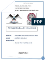 Monografia de Tipon Maravila Hidráulica