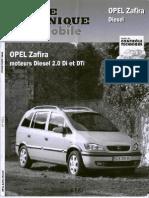 Revue Technique Opel Zafira Diesel 2.0Di Et Dti