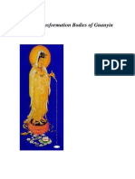 The 33 Transformation Bodies of Guanyin