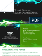 TSS-02 WSP 2014 R2 Whitelisting Cyber Security Recommendations