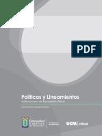 Politicas y Lineamientos Educacion Virtual Ucm 1