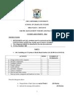 GBS 550 DT Assignment Nov-Dec 2014