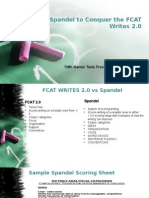 fcat writes 2 0 and spandel